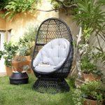 Fauteuil oeuf de jardin effet rotin Anya | Castorama